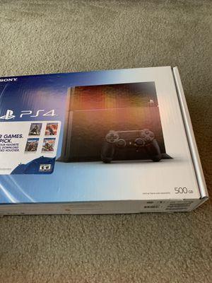 PlayStation 4 500gb for Sale in San Antonio, TX