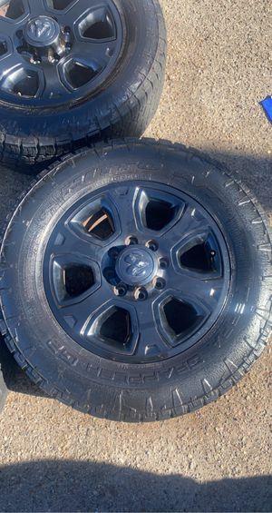 2018 Dodge Ram 2500 Laramie wheels and tires for Sale in El Cajon, CA