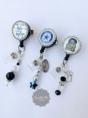 Blinged Badge Reels for Sale in Burleson, TX