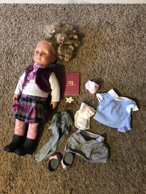 Our Generation Doll and some Accessories for Sale in Saint Paul, MN