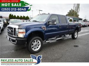 2008 Ford F350 Super Duty Crew Cab Lariat Pickup 4D 8 Ft for Sale in Lakewood, WA