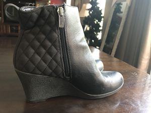 Chaps Size 7.5 Women's Wedge Boots for Sale in Irwin, PA