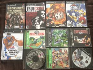 11 Playstation 2 games for Sale in Los Angeles, CA