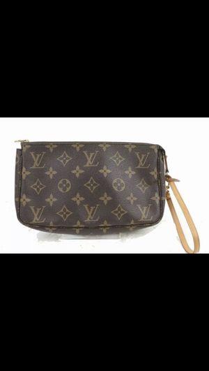 Louis Vuitton monogram wristlet bag for Sale in Modesto, CA