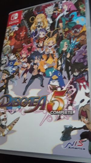 Disgaea 5 complete for Nintendo switch for Sale in Detroit, MI