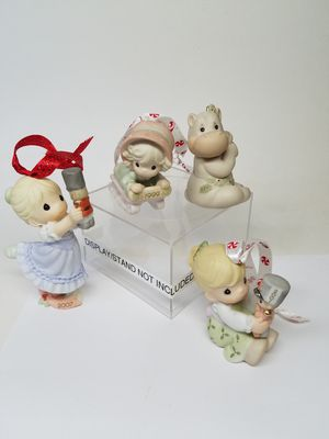 Precious Moments Dated Christmas Ornaments Lot of 4 (Read Below) for Sale in Phoenix, AZ