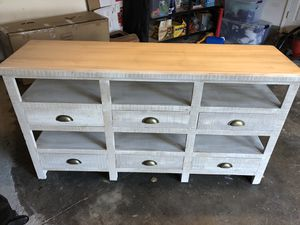 Console/ buffet table for sale! $175 OBO for Sale in San Mateo, CA