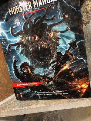 D&D book of monster's for Sale in Sunset, SC