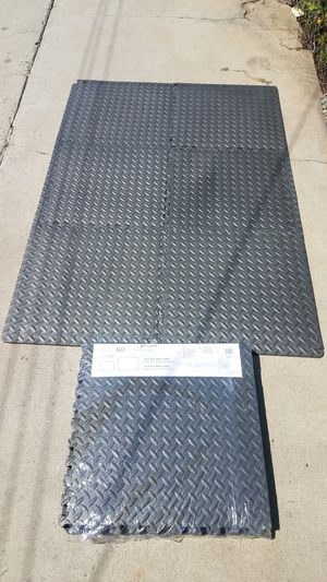 """6 pcs High density 1/2"""" Floor exercise workout mat 20sq ft protect your floors for Sale in Montebello, CA"""