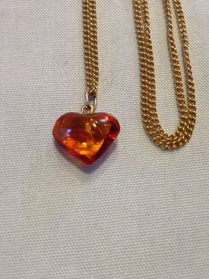 NEW AMBER NECKLACE for Sale in Plains, PA