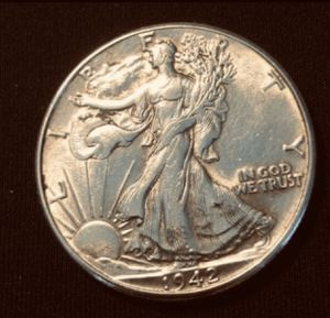 1942-Coin- 90%Siver- Vintage- Good Condition,Very Nice.d for Sale in Pearland, TX