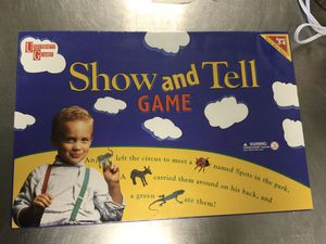 Show and Tell Game for Sale in Marlboro Township, NJ