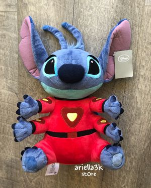 "NEW! With tag!!! Disney Store Stitch Plush Alien 16"" Red Space Suit Jumbo 6 Arms. for Sale in Kissimmee, FL"