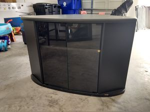 Black corner tv stand for Sale in Land O Lakes, FL