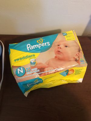 Newborn diapers for Sale in Dearborn Heights, MI