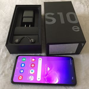Galaxy s10e 128gb Unlocked For Any Carrier $325 Firm No Trade, New Condition,NO TRADE for Sale in Sacramento, CA