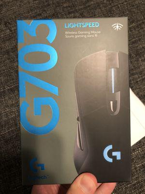 BRAND NEW Logitech G703 Lightspeed Wireless Gaming Mouse (Black) for Sale in Weston, FL