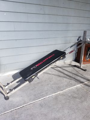 Total gym all in one gym exercise machine for Sale in Las Vegas, NV