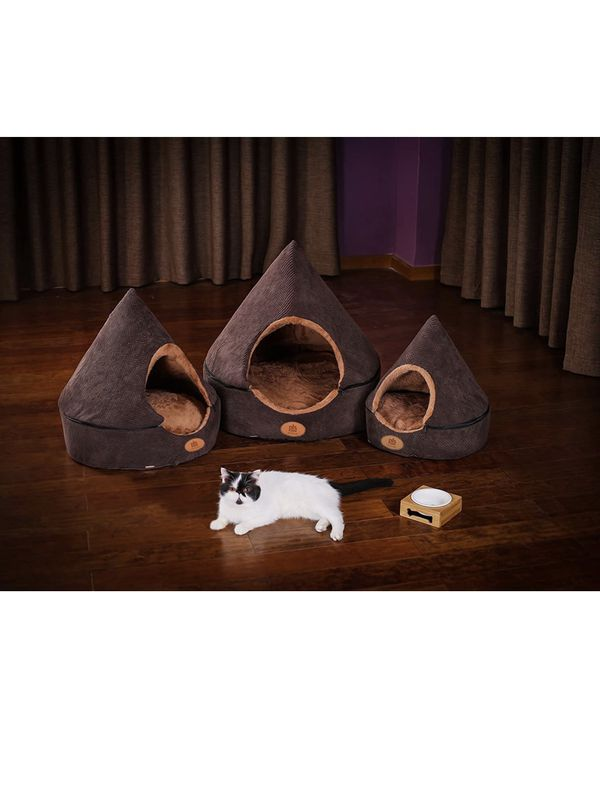 PLS Pet Birdsong Small Dog/Cat Teepee Style Bed