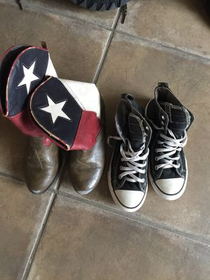 Girls ankle boot/ Ankle Converse All Star Shoe size 2 for Sale in College Station, TX