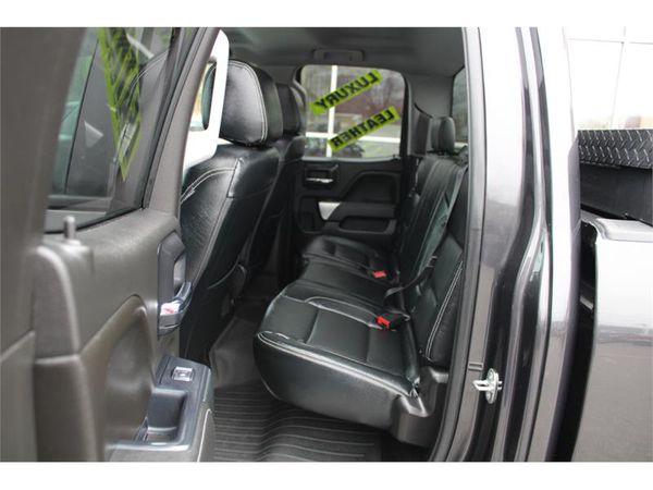 2015 Chevrolet Silverado 2500HD LIFTED ON 22 INCH FUEL WHEELS LOADED BLACK LEATHER