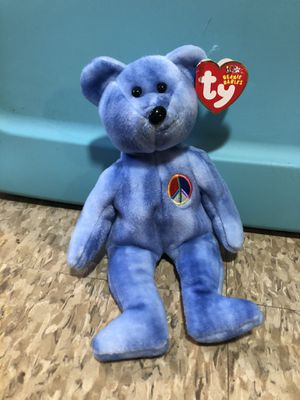 "Beanie Baby ""Peace Bear"" for Sale in North Providence, RI"
