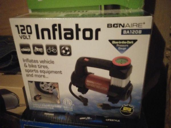 120 volt inflator