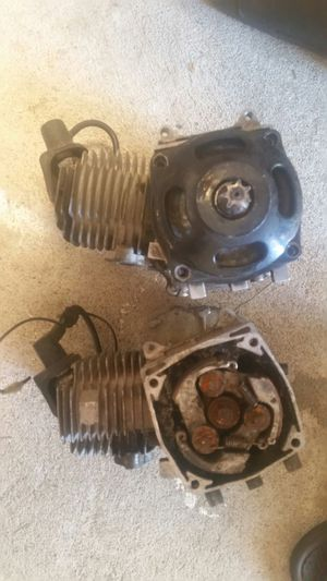 2 2 stroke motors 50 cc for Sale in Detroit, MI
