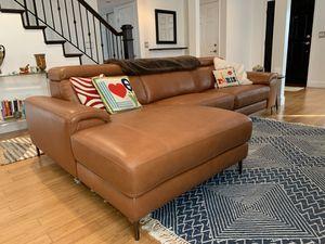 Modani Thompson sectional motion tan sofa (left) for Sale in Long Beach, CA