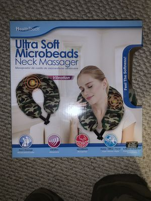 Health Touch, Ultra Soft Micro-beads Neck Massager for Sale in Woburn, MA