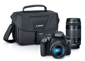 UP Your Photo Game!! Canon EOS Rebel T6 DSLR Camera + EF-S 18-55mm + EF 75-300mm - 18-MXP Sensor for Sale in Frederick, MD