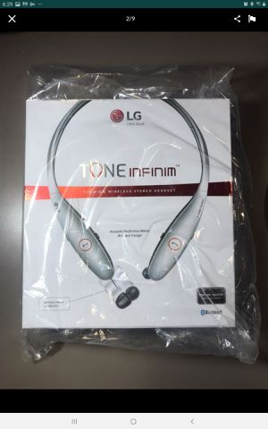 LG Tone Infinim HBS-900 Bluetooth Stereo Headset. for Sale in Portland, OR