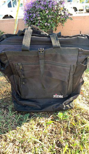 FIDM black roller art backpack for Sale in Lawndale, CA