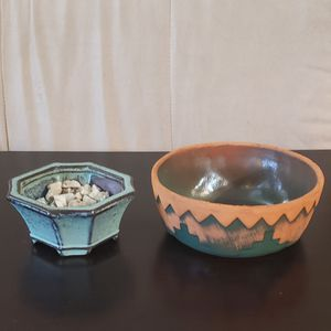 Succulent/bamboo pots for Sale in Malden, MA