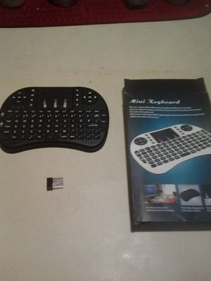Mini keyboard with built-in Mouse rechargeable for Sale in Tampa, FL