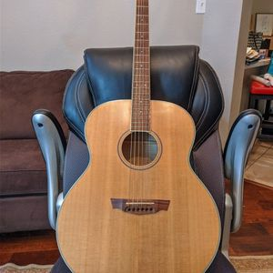 Immaculate wood grain ALL SOLID Jumbo Parkwood PW-340FM Acoustic Guitar, With Hardshell case for Sale in Richardson, TX