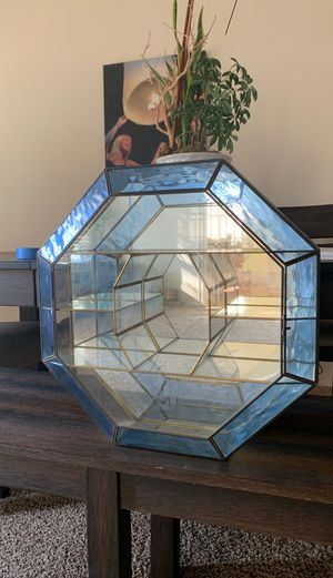 Stain glass wall display case for Sale in Glendale, CA
