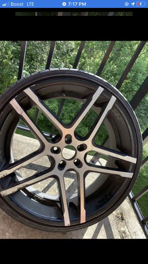 22inch rims 5x114 for Sale in Laurel, MD