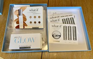 Rodan and Field sample box glow, active hydration and radiant defense 5 each for Sale in Charlotte, NC