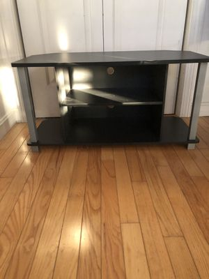 """Black tv stand 31 1/2 long 16""""high 16"""" wide for Sale in Narragansett, RI"""