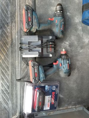 Bosch impact and hammer drill .3 batts.1 charger. for Sale in Brandon, FL