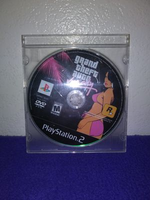 GTA VICE CITY FOR PS2 for Sale in Salt Lake City, UT