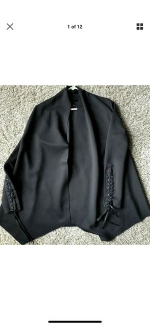 Osklen Womens High End Brazilian Black Long Sleeve Blazer New for Sale in Fort Myers, FL