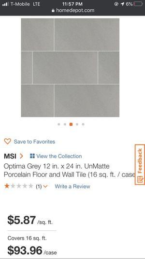 Urban Dove Darkish Gray 12x24 U.S. Tile for Sale in Ontario, CA