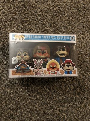 Disney Parks Exclusive Funko POP Splash Mountain 3-Pack for Sale in Clovis, CA