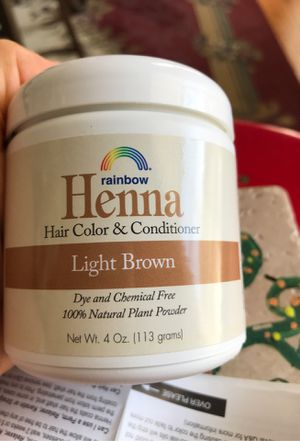 Henna Hair Color - Never opened for Sale in Maryville, TN