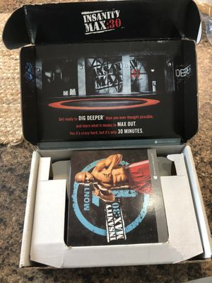 Insanity beach body max for Sale in Spring Hill, FL