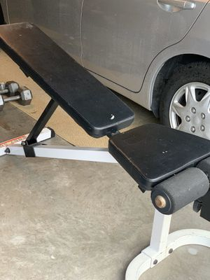 Weight bench adjustable for Sale in Lutz, FL