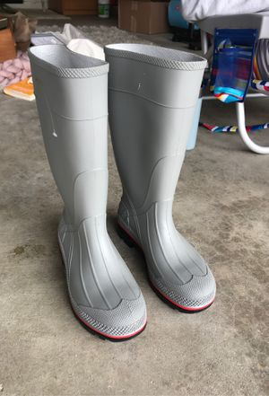 Rain boots/utility boots, worn once for Sale in Encinitas, CA