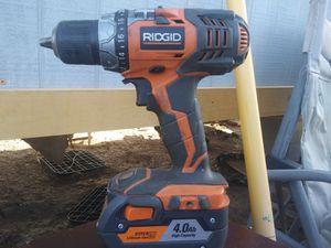 Ridgid drill for Sale in Odessa, TX